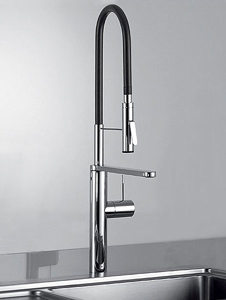 The Ono Highflex kitchen sink mixer by KWC