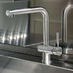 Brushed Steel Sink Mixer